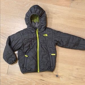 The North Face reversible boys winter jacket 4t